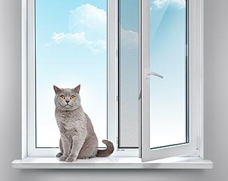 Москитные сетки «Антикошка» - лучшее решение для тех, у кого дома есть животные